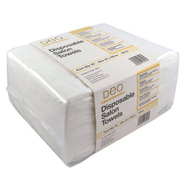 Deo Disposable Towels White , 50 Towels