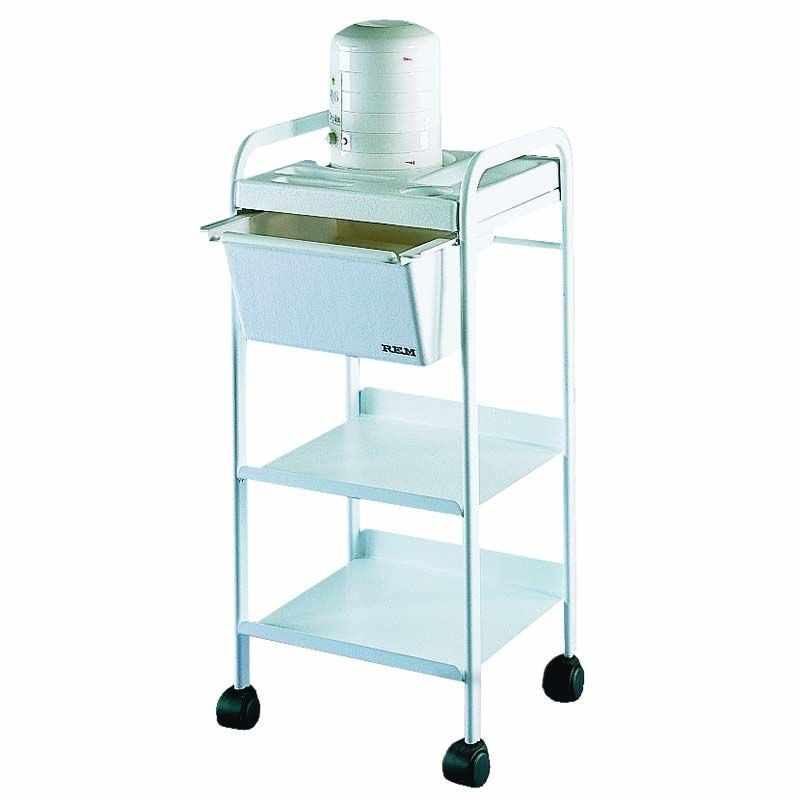 REM Wax Trolley - White