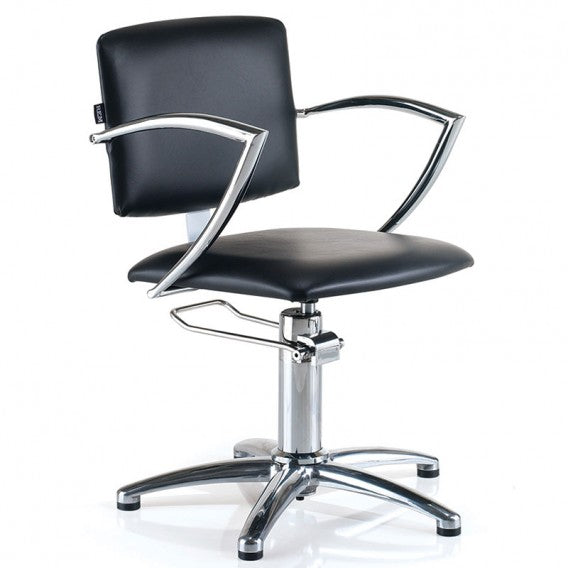 REM Atlas Backwash Hydraulic - Black - Styling Chair