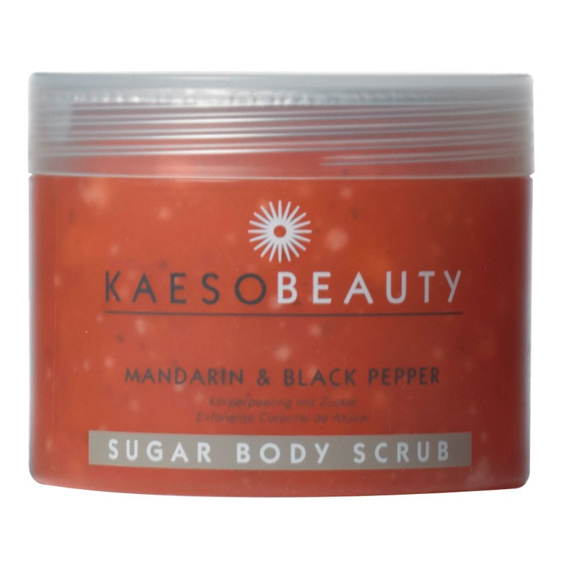 Kaeso Mandarin & Black Pepper Sugar Body Scrub 450ml