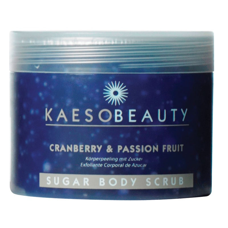 Kaeso Cranberry & Passion Fruit Sugar Body Scrub 450ml