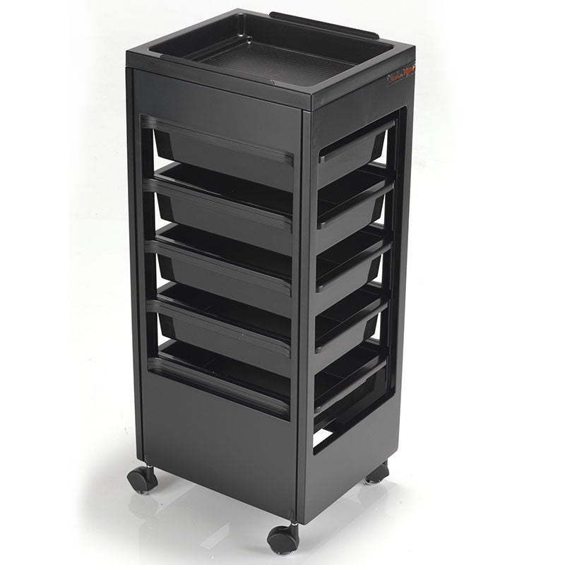 REM Studio Trolley - Black/Flat Top