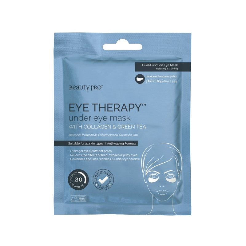 BeautyPro Eye Therapy Under Eye Collagen Patch (3 Pairs)