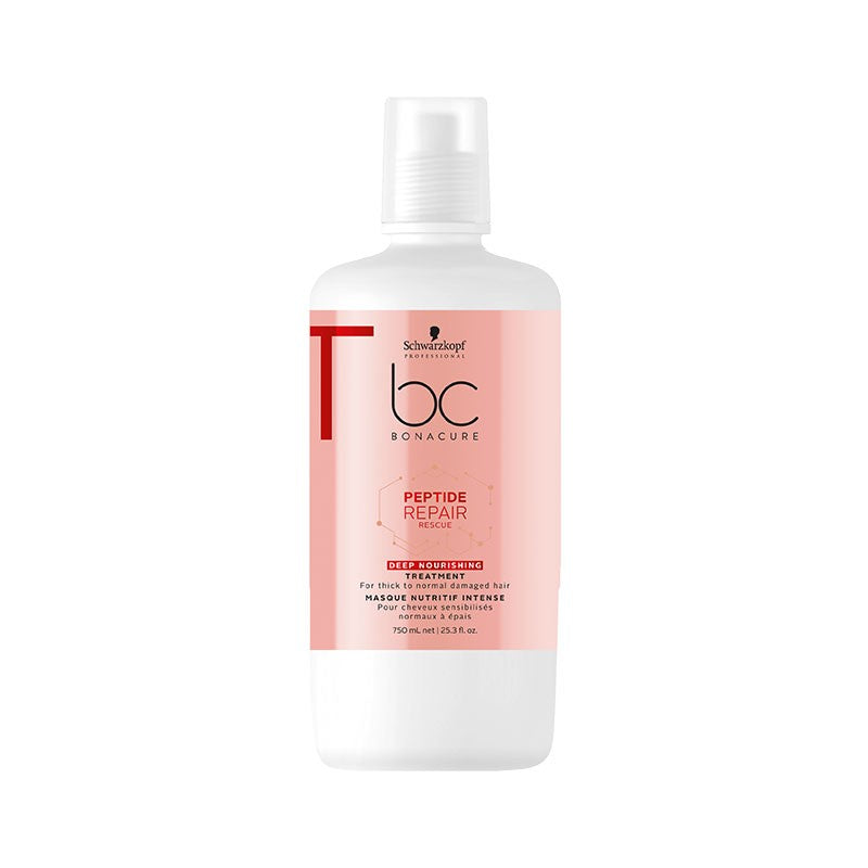 Schwarzkopf Bonacure Peptide Repair Rescue Deep Nourishing Treatment 750ml