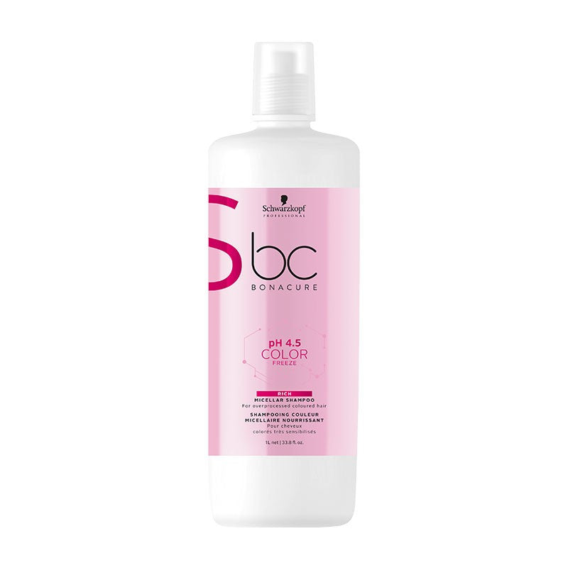Schwarzkopf Bonacure Ph 4.5 Color Freeze Micellar Rich Shampoo 1000ml