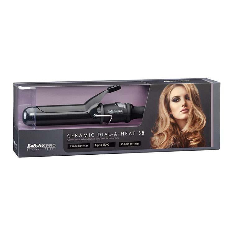 Babyliss Pro 38mm Ceramic Dial A Heat Tong (New And Improved)
