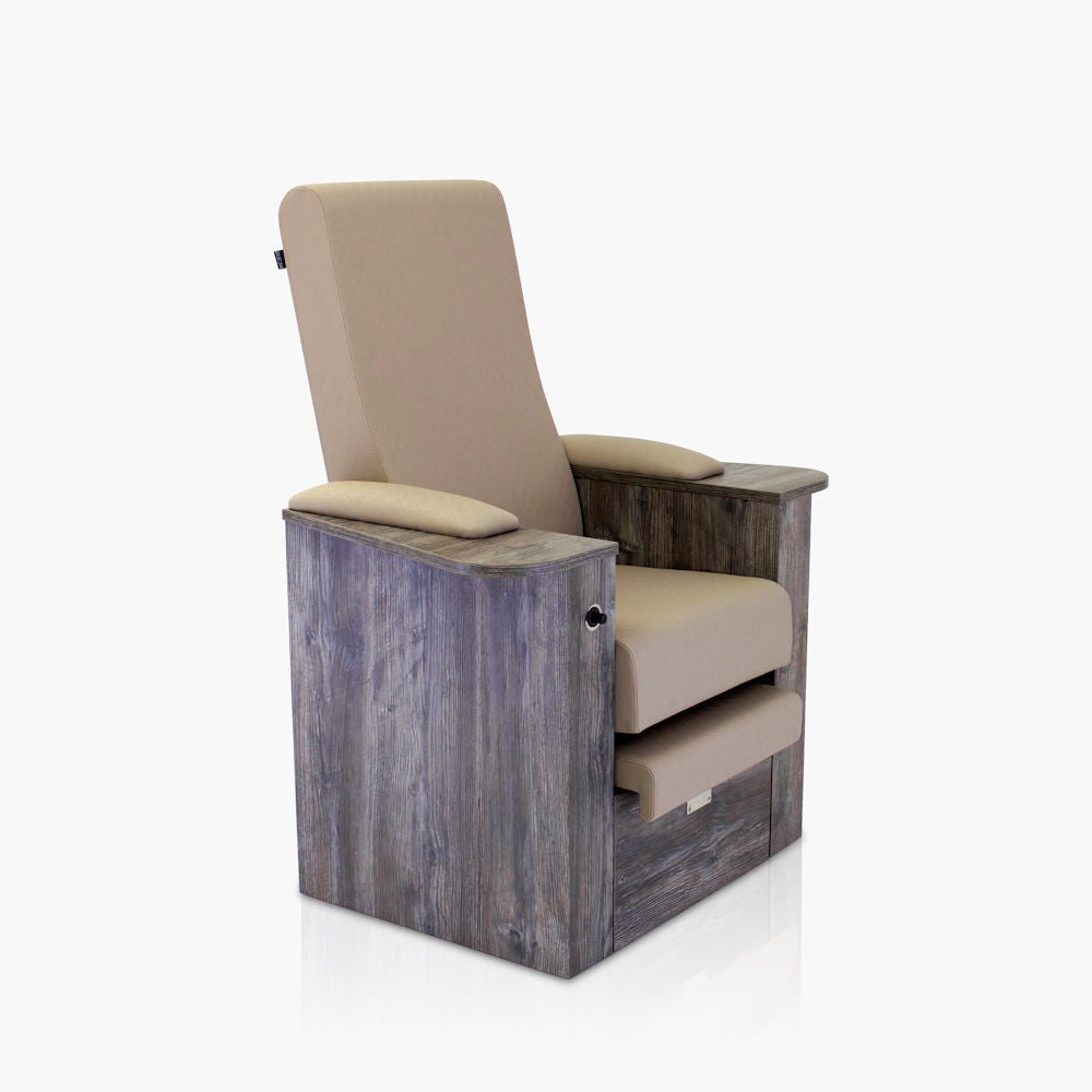 REM Natura Pedi Chair - Static Back