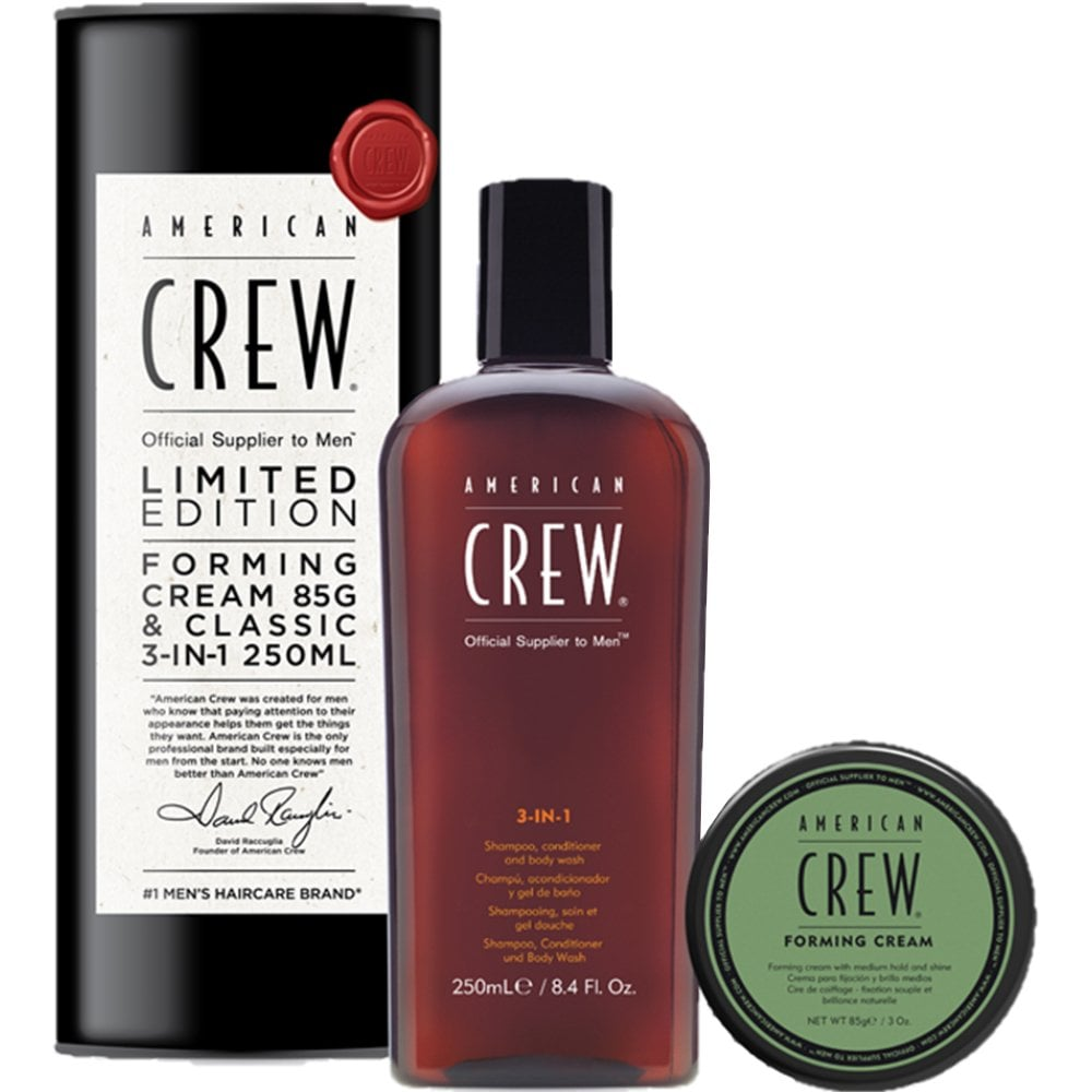 American Crew 3-In-1 250ml+ Forming Cream 85g