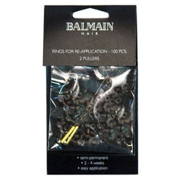 Balmain Rings For Soft Ring Application Brown