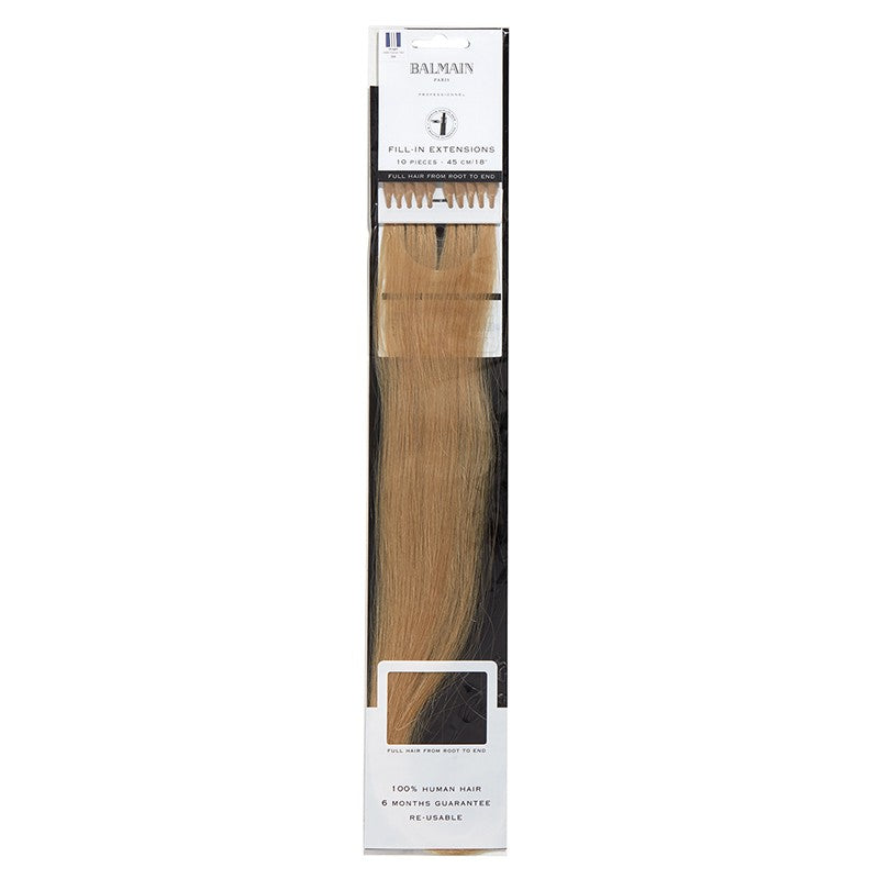Balmain Prebonded Fill-in Extensions Human Hair Straight 45cm 10pcs