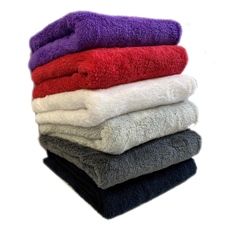 Hair Tools Microfibre Bleach Proof Towels - Red