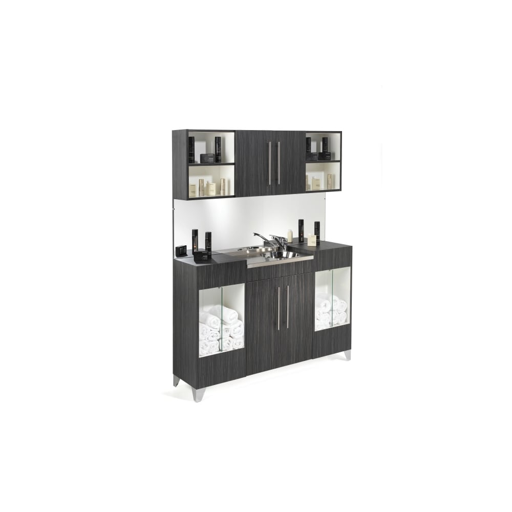 REM Opal Vanity Unit With Upper Storage