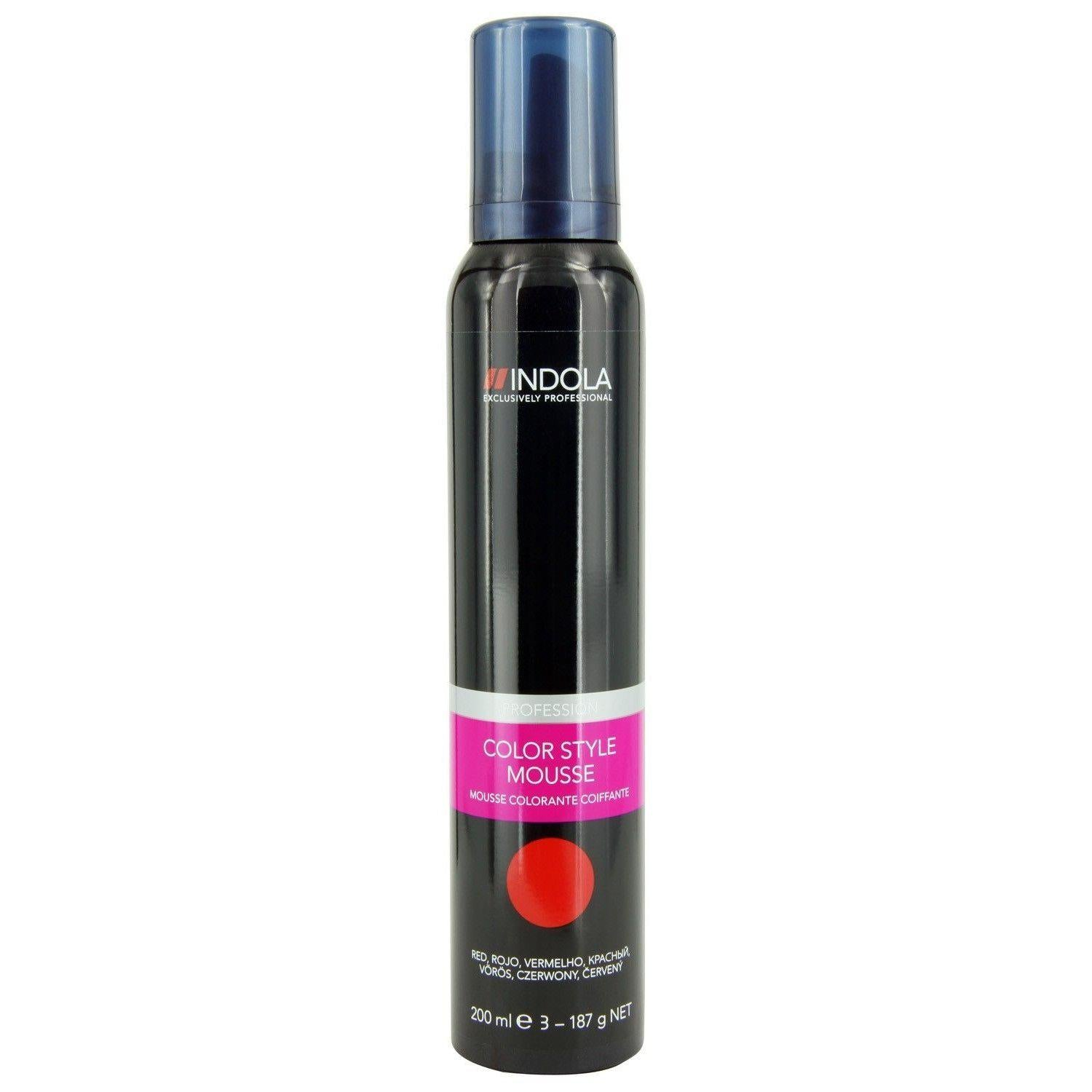 Indola Innova Color Style Mousse Red 200ml