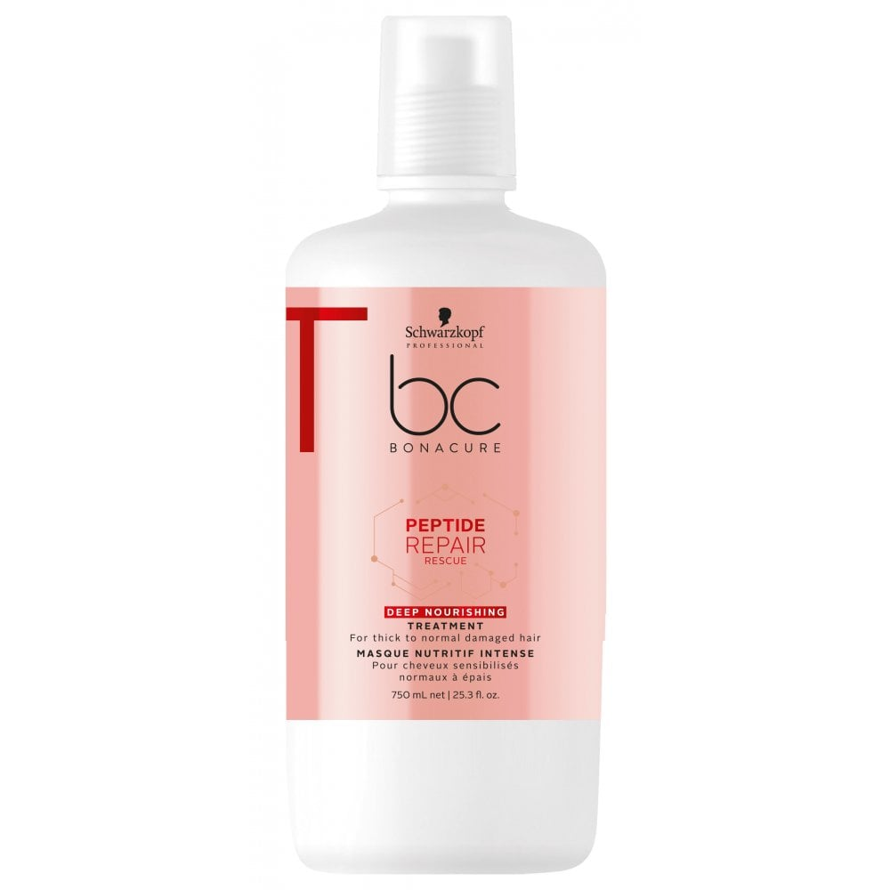 Schwarzkopf Bonacure Peptide Repair Rescue Treatment 750ml