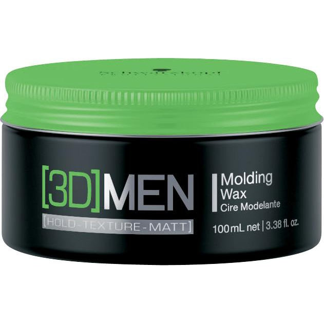 Schwarzkopf 3D Mension Medium Hold Wax 100ml