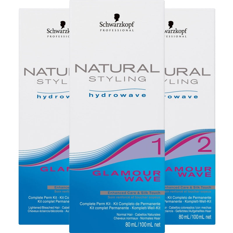 Schwarzkopf Natural Styling Glamour 0 - Kit