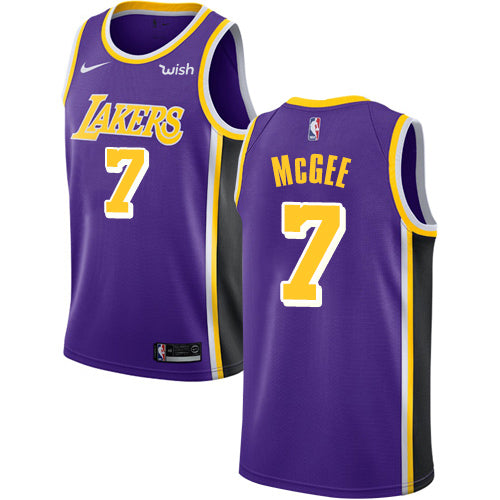 3c759865d10 Men s JaVale McGee Purple Nike Jersey NBA Los Angeles Lakers  7 Statement  Edition