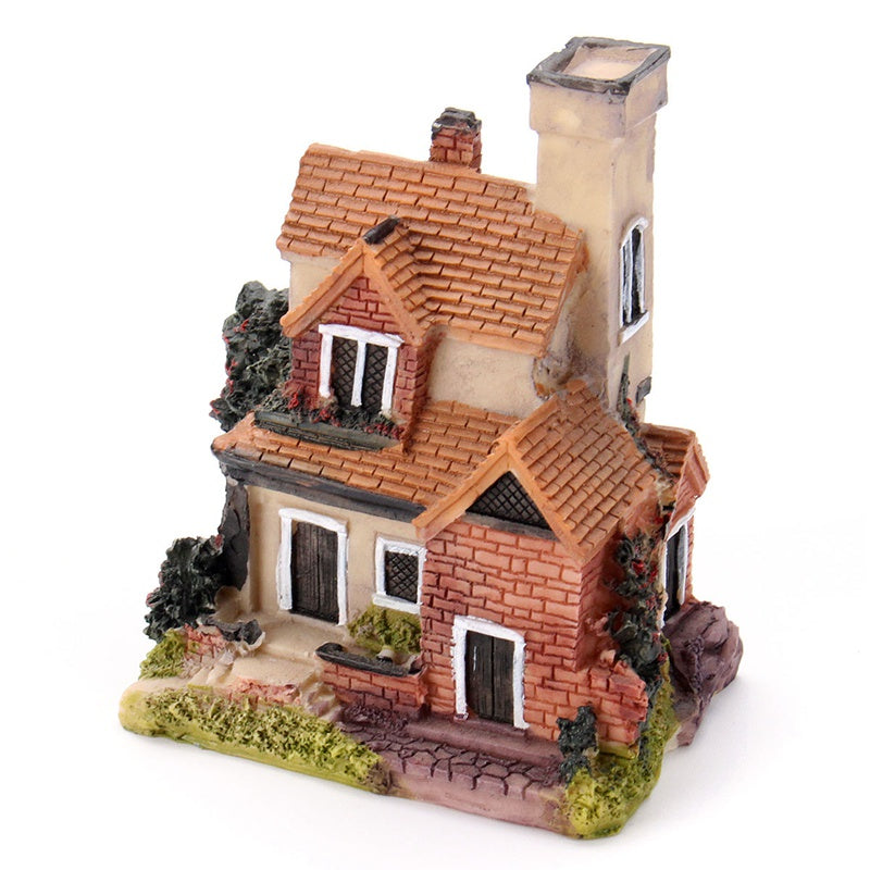 Vintage Mini Resin House