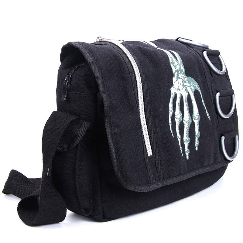 Unisex Skeleton Hand Walking Bag