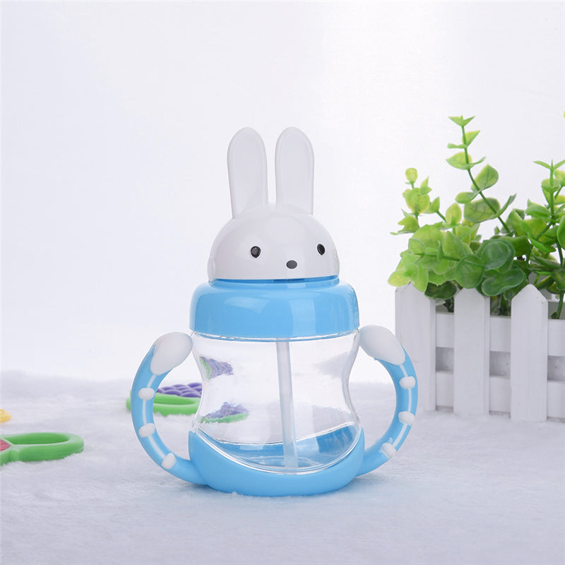 Rabbit Structure Baby Feed Drinking Cup