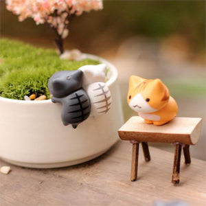 Cute Cats 6 Pcs/Set Cartoon Decorations