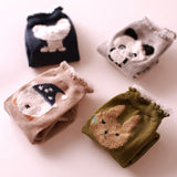 Women Cotton Sock Lovely Animal Women Panda Pig Giraffe Cartoon Design