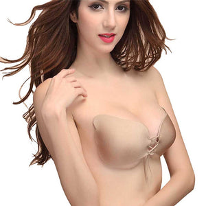 Women Sexy Strapless Fly Bra