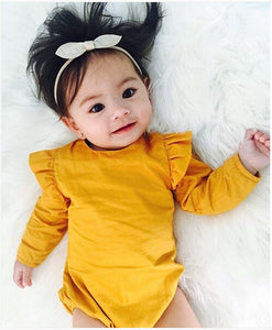 Baby Girl Simple Jumpsuit