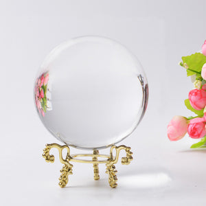 Artificial Crystal Healing Spherical Lens