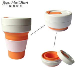 Outdoors Portable Pocket Cup For Tea And Coffee