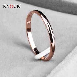 Titanium Steel Smooth Simple Ring