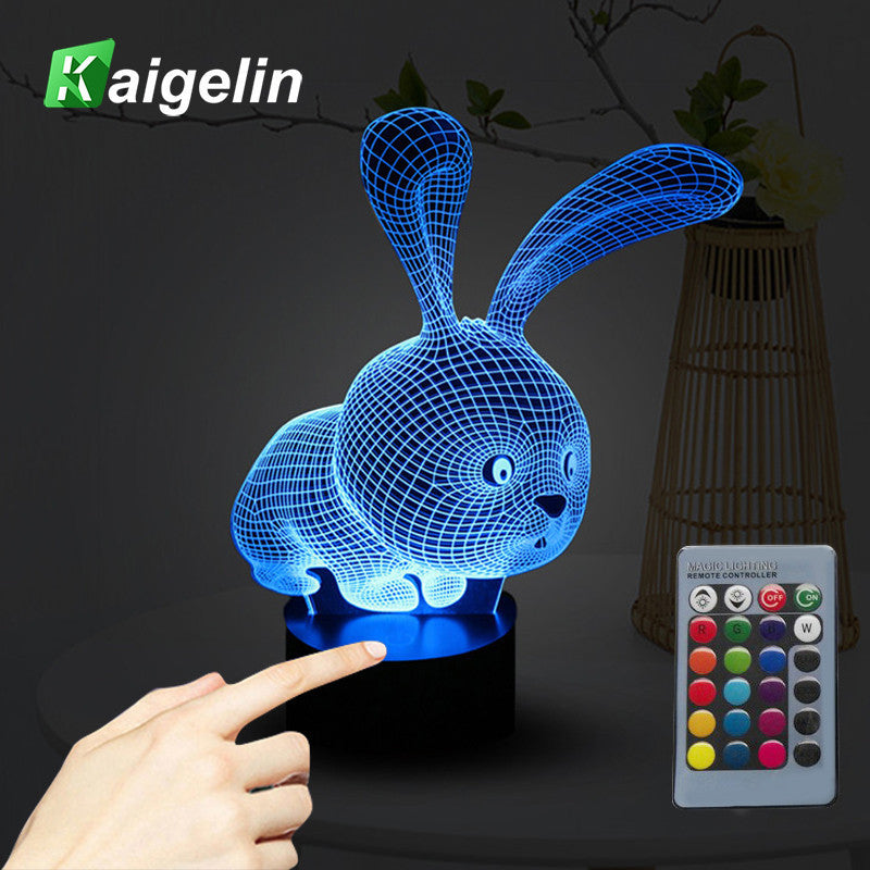 Creative 3D Light Visual Touch Sensor Night Lamp