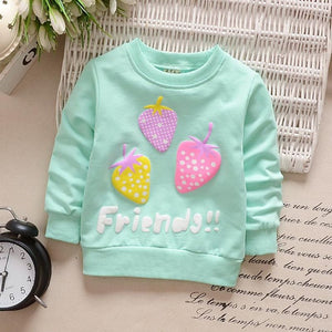 Baby Hoodies Spring Warm Cotton Sweatshirts