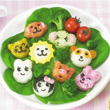 Cute Cartoon 3D Shape 6 Pieces Of Boiled Egg Tool