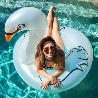 AWESOME GIANT INFLATABLE POOL FLOATS