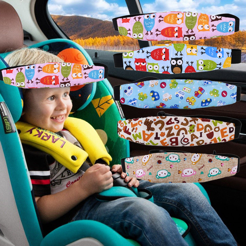 Outdoor Car Seat Headrest Support Belt