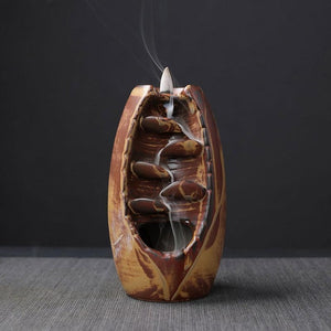 Simple™ Mountain River Backflow Incense Holder