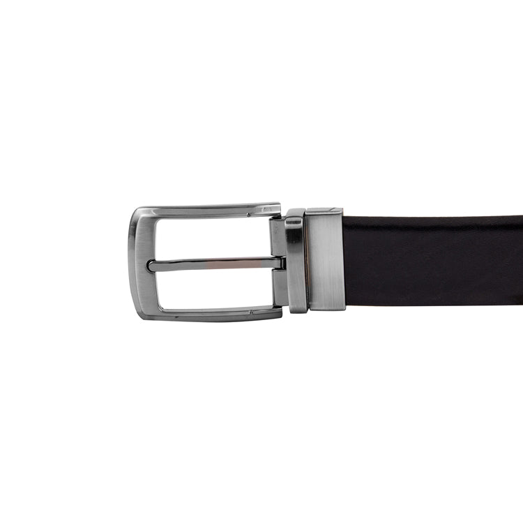 Genuine Leather Formal Belt For Men - Black & Brown