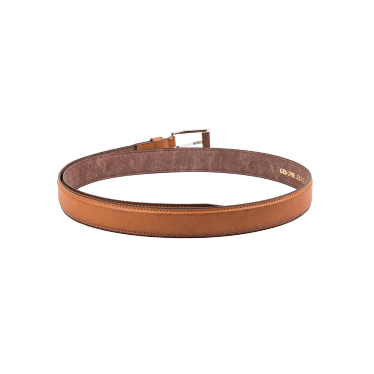 Genuine Leather Semi Formal Belt - Black ; Tan