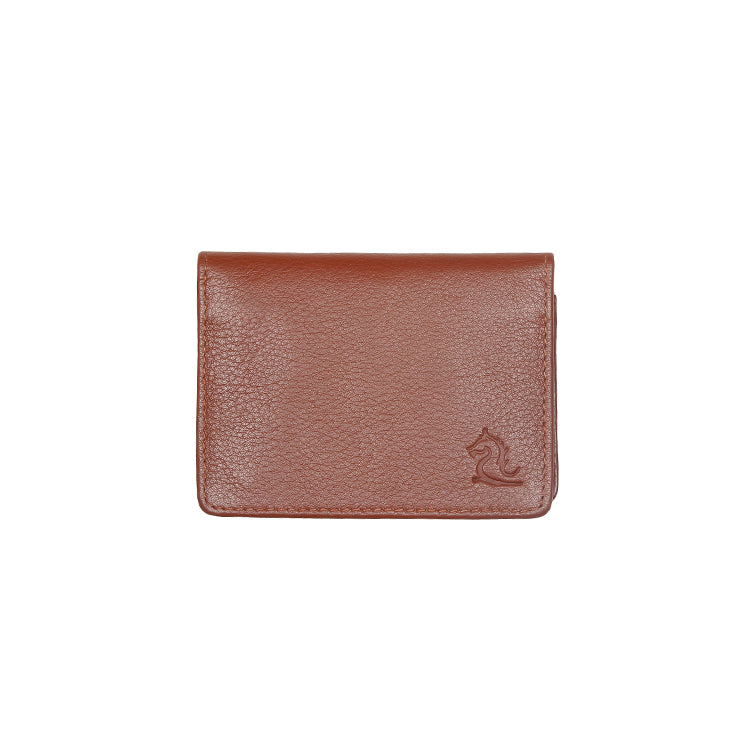Leather Unisex Card Holder - Black ; Brown ; Tan