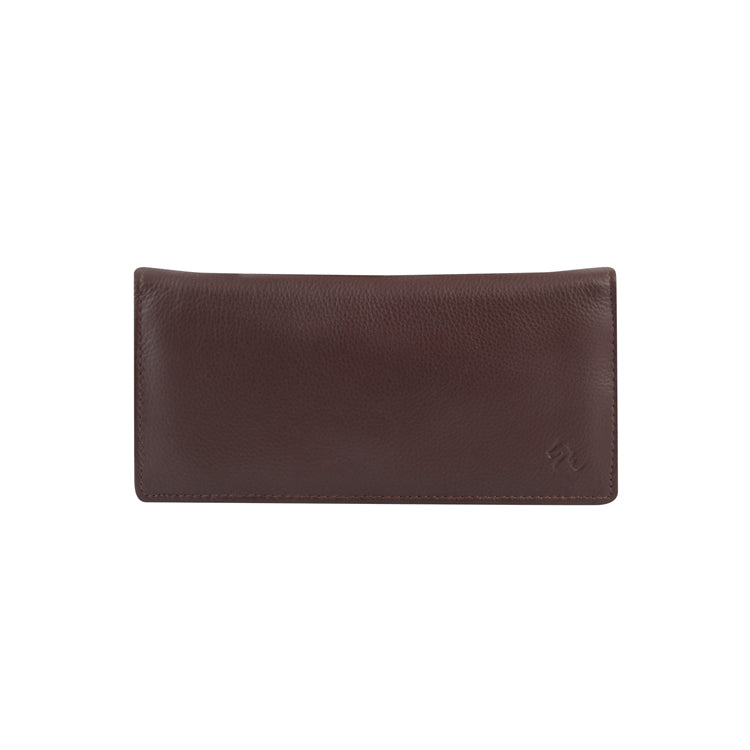 Genuine Leather Formal Wallet - Black ; Brown ; Cherry ; Olive ; Red ; Tan