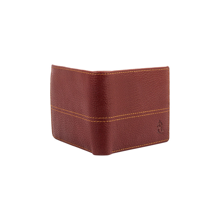 Genuine Leather Wallet - Blue ; Maroon ; Orange