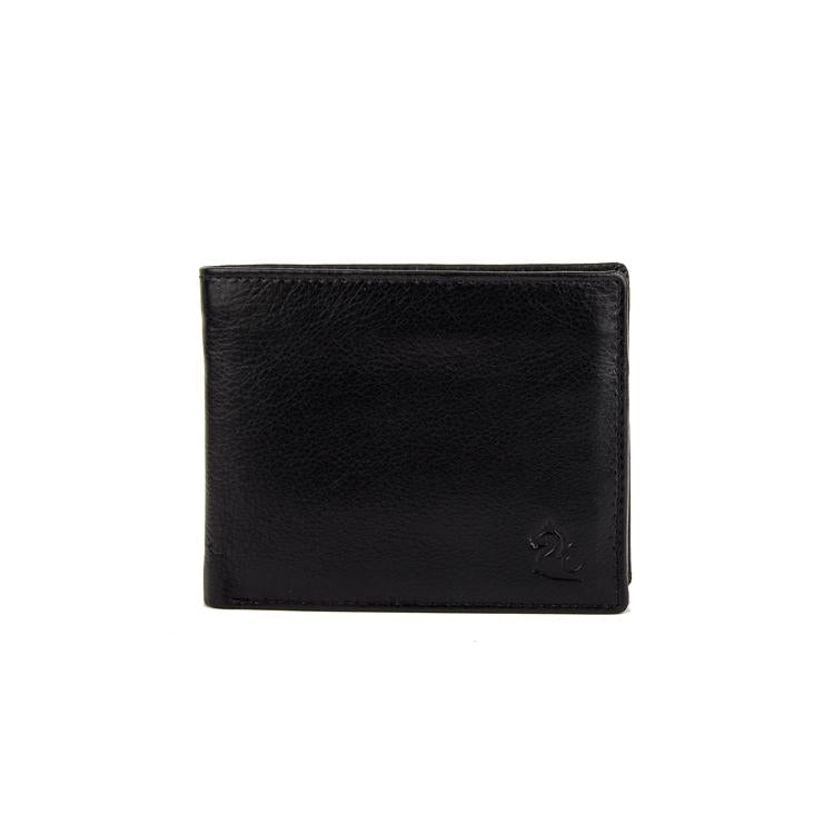 Genuine Leather Wallet - Brown ; Black