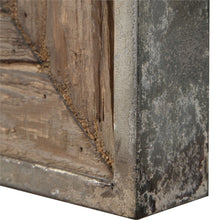 Siringo Weathered Wood Mirror
