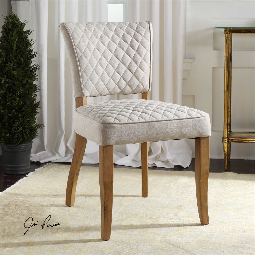 Alon armless chair, set of Two
