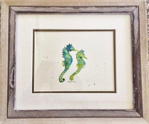 Sea Horse  watercolor - Saturday, March 30th at 11 a.m.