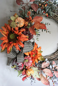 Free Demonstration - Fall Wreath - Thursday, September 20th at 12 p.m.