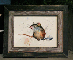 Mouse watercolor class - September 28th at 11 a.m.