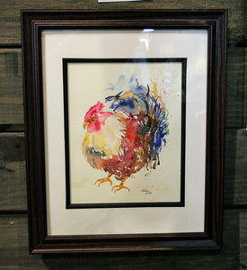 Rooster Watercolor class