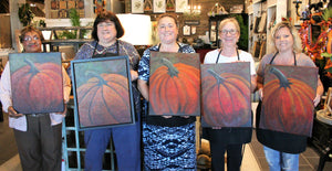 Painting Class - Pumpkin - Friday, November 23rd @11 a.m.